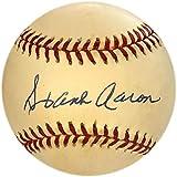Hank Aaron Autographed Baseball (JSA) - Autographed Baseballs