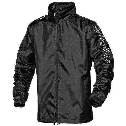 Lotto Mens Football Sports Jacket WN Zenith (XLB) (Black)