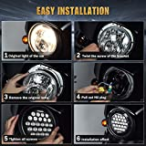 """SUP-LIGHT 5-3/4"""" 5.75 Inch LED Headlights for"""
