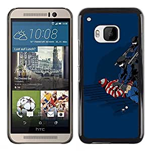 Stuss Case / Funda Carcasa protectora - Funny Waldo Caught - HTC One M9