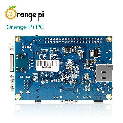 Pleasant Amazon Com Orange Pi Pc Single Board Computer Quad Core Arm Cortex Wiring Cloud Toolfoxcilixyz