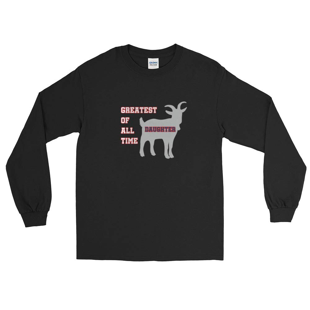 New England GOAT Farm Greatest of All Time Daughter Long Sleeve T-Shirt