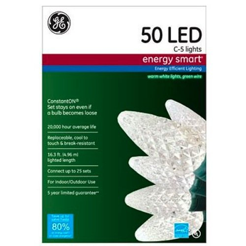 GE C 5 Lights Energy Smart