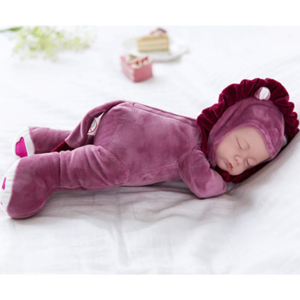 35 cm dise/ño de le/ón Rojo BeesClover Mu/ñeca de Peluche para beb/é