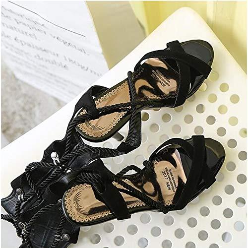 Rojo Y Black Suede Almendra Stiletto Talón Fiesta Mujer Zapatos Básica QOIQNLSN Verano La De Bomba Talón De Noche Primavera Abierto Azul Tacones wxUt16T
