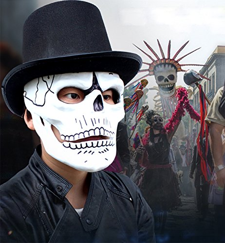 Carnival Costumes Manufacturer - Gmasking James Bond 007 Spectre Skull Skeleton Cosplay Mask Replica