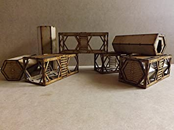 Iso containers - 28mm Wargames Building/scenery/terrain for
