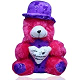 Valentine Day For Love Expression_Rasberry Teddy Bear _Spenca London