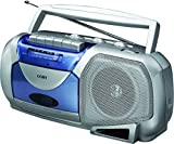 Coby Portable Cassette Player/Recorder with AM/FM Radio