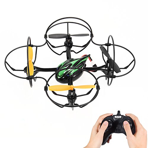 Theefun Mini RC Helicopter Drone with High/Low Speed, 2.4Ghz 6-Axis Gyro 4 Channels Headless Quadcopter by Theefun