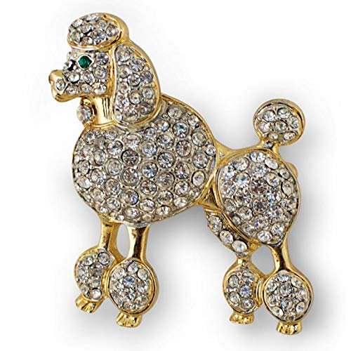 BestPysanky Poodle Austrian Crystal Jeweled Enamel for sale  Delivered anywhere in USA