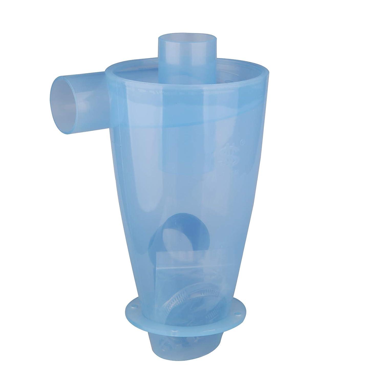 Vinteky Cyclone Aspirateur Filtre de collecteur El/ément s/éparateur cyclone industriel Collecteur de Poussi/ère Transparent Extracteur de poussi/ère haute performance