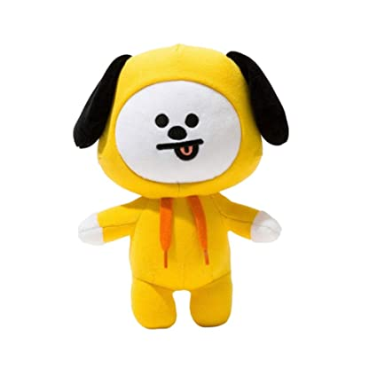 FANMURAN 30CM Kpop BTS Plush Toy BT21 Rabbit Dog Standing Doll Gift CHIMMY