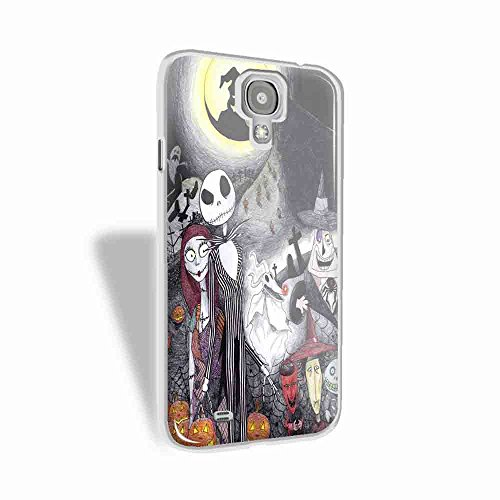 halloween's town characters for Samsung Galaxy S4 White case]()