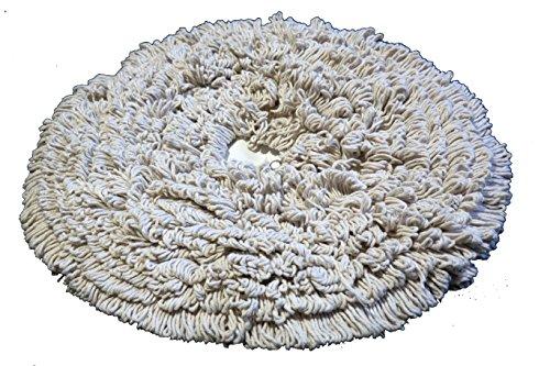 19'' PROCYON Cotton Bonnet Pads - 6 Per Case by Procyon