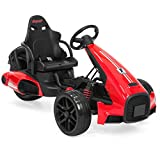 12v go kart motor - Best Choice Products 12V Kids Go-Kart Racer Ride-On Car w/ Push-to-Start, Foot Pedal, 2 Speeds, Spring Suspension - Red