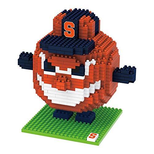 (FOCO NCAA Syracuse Orange 3D Brxlz Mascot Building Blocks SET3D Brxlz Mascot Building Blocks Set, Team Color, One Size)
