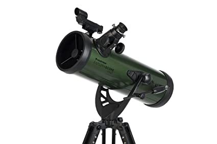 Amazon celestron explorascope az reflector