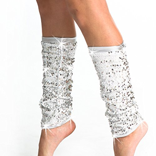 Gia Mia Girl's Sequin Leg Warmer (Hip Hop Costumes For Dance Competition)