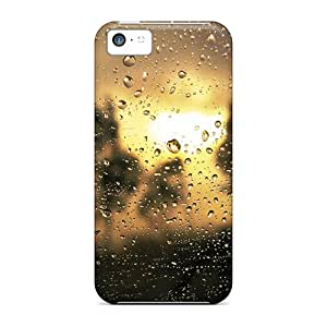 Cute Appearance Covers/PtQ19890WTdP Drop Sunrise Cases For Iphone 5c