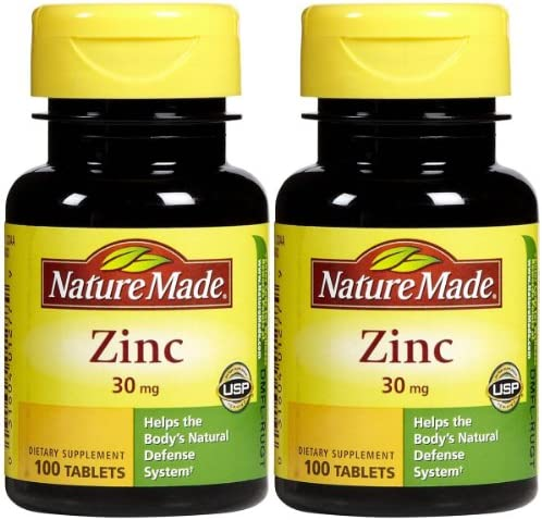 Nature Made Zinc 30 Tabs product image