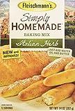 Fleischmann's Simply Homemade No Knead Bread Mix Italian Herb 14 oz (Pack of 2)
