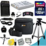 """Ultimate 20 Piece Accessory Kit for Nikon Coolpix P530, P520, P3, P4, P80, P90, P100, P500, P510, P5000, P5100, P6000, S10, 3700, 4200, 5200, 5900, 7900 Digital Cameras Includes: 32GB High Speed Memory Card + 1 High Capacity EN-EL5 / ENEL5 Lithium-ion Battery with Quick AC/DC Charger + 60"""" Inch Full Size Tripod + a Water Resistant Padded Case + Universal Card Reader + Flexible Mini Table Tripod + Memory Case Wallet Holder + Screen Protectors + Deluxe Cleaning Kit + Lens Cap Keeper + Ultra Fine HeroFiber Cleaning Cloth"""