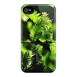Hot Design Premium PgKusSq5856mxVvf Tpu Case Cover Iphone 4/4s Protection Case(nature Plants Branch)