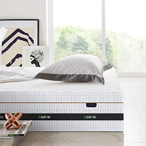 home, kitchen, furniture, bedroom furniture, mattresses, box springs,  mattresses 11 picture Twin Mattress, Coolvie 11 Inch Innerspring Mattress, Hybrid promotion