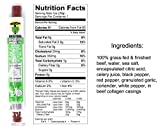 100% Grass Fed & Finished Beef Sticks: Soy, Gluten, and MSG Free, Never Given Antibiotics or Hormones (4 Original, 4 Jalapeno, 4 Smokey Sweet Variety, 1-oz Stick)