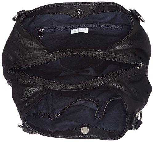 Gerry Weber Expression Shopper Lhz - Borse a spalla Donna, Schwarz (Black), 12.5x29x34.5 cm (B x H T)