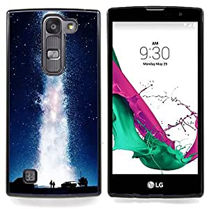 - Universe Milky Way Geyser Water Love - Caja del tel????fono delgado Guardia Armor- For LG Volt 2 / LG G4 Mini (G4c) Devil Case