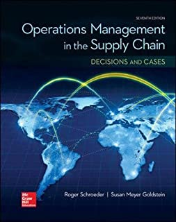 operations management contemporary concepts and cases mcgraw hill rh amazon com Dr. Roger Schroeder Roger Schroeder Actor