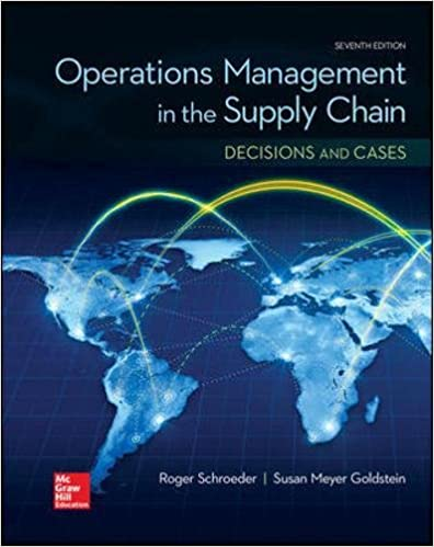 Operations And Supply Chain Management 13th Edition Pdf