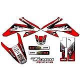 Team Racing Graphics kit for 2008-2014 Honda CRF 150F/230F, ANALOG