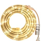 PERSIK 18 Feet LED Warm White Rope Light for Indoor and Outdoor use (1 - Warm White)