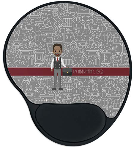 Lawyer/Attorney Avatar Mouse Pad with Wrist Support