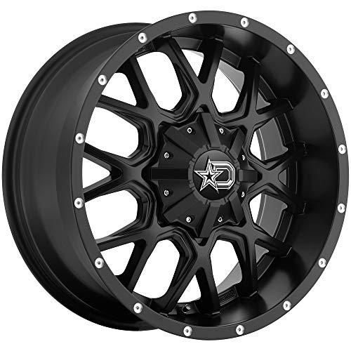 Dropstars 645B Wheel with Black Finish (20x9/5x5.5, 0mm Offset)