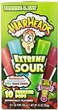 Warheads, Fat Free Freezer Pops, Assorted Flavors, Extreme Sour (12 Boxes, 10 - 1 oz pops per box)