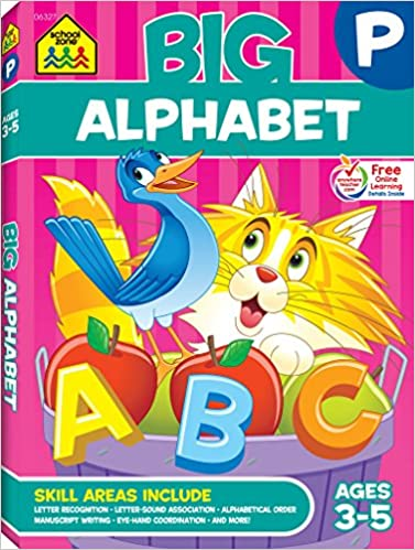 Amazon   Big Alphabet Workbook...