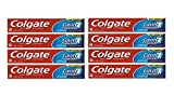 Colgate Cavity Protection Fluoride Toothpaste, Great Regular Flavor, Travel Size (2.5 Ounce 8 Pack)