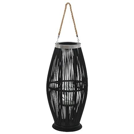 XINGLIEU - Soporte para lámpara de Techo de bambú, 60 cm ...