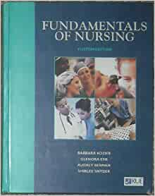 Fundamentals of nursing book kozier