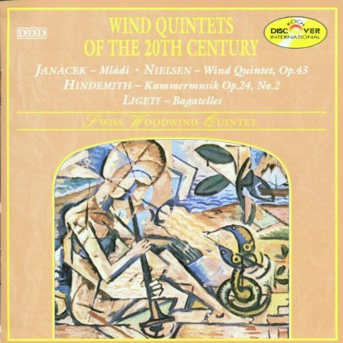 Wind Quintets of 20th Century by Swiss Woodwind Quintet