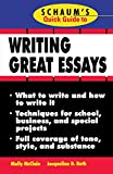 img - for Schaum's Quick Guide to Writing Great Essays book / textbook / text book