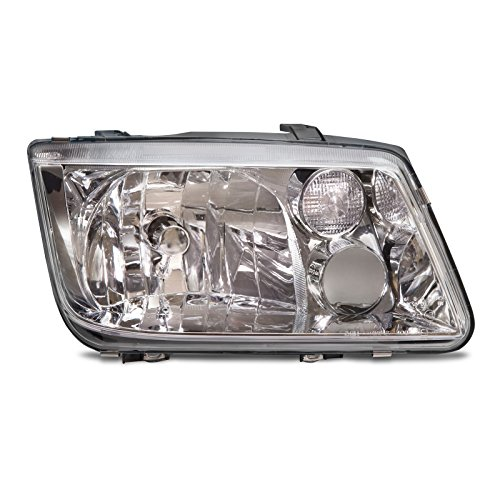 lacement for Volkswagen Volkswagan Jetta Headlight Without Fog Lamp Headlamp Passenger Side New ()