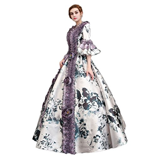 with Scarlett O'Hara Costumes design