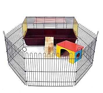 Jaula para mascotas pequeña de alta calidad para interior - con ...
