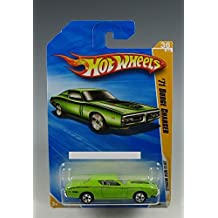 2010 HOT WHEELS NEW MODELS 36 OF 44 GREEN '71 DODGE CHARGER