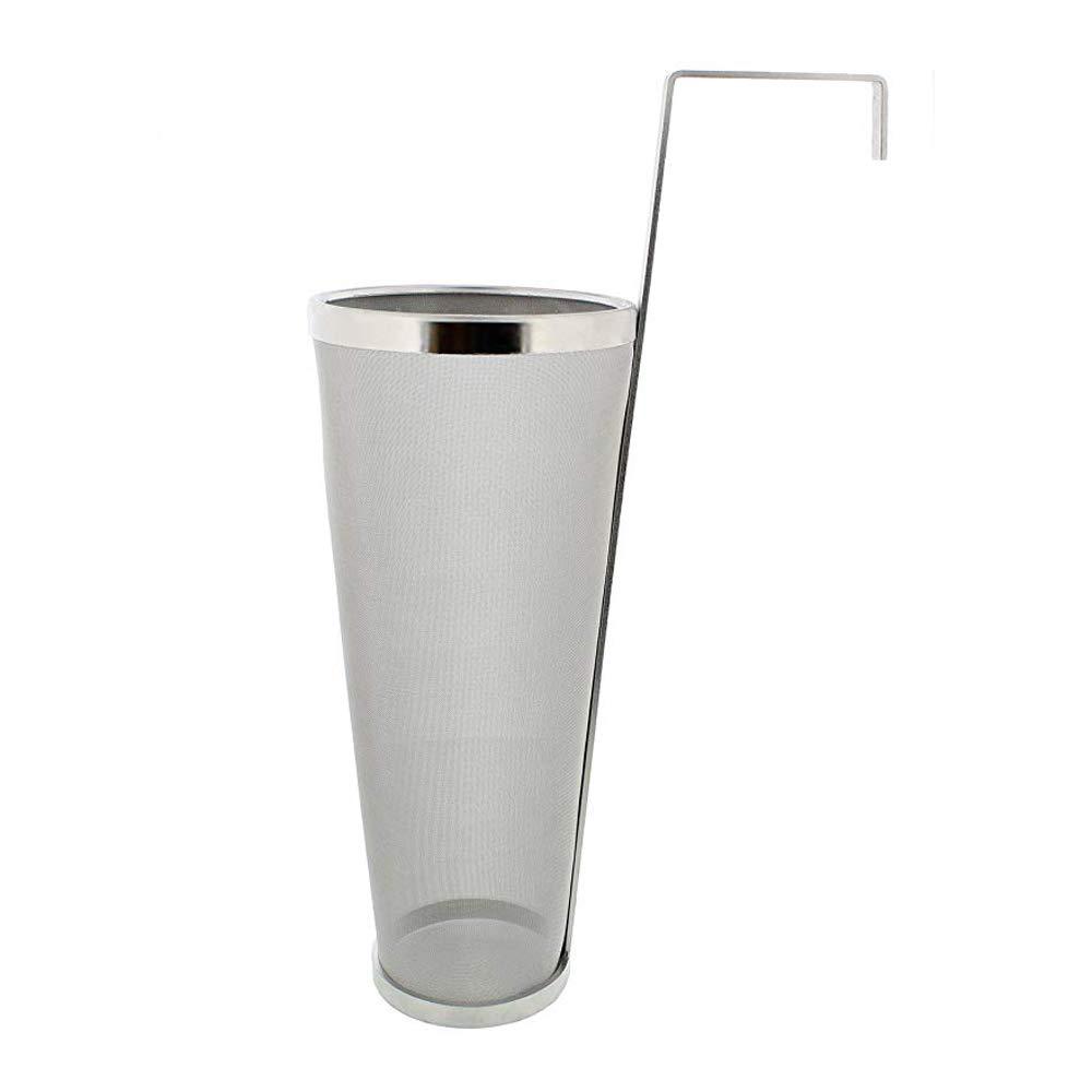 filtro per birra e t/è Fayelong 300 in acciaio inox 304 bollitore 1Gal 1gal rete per birra e t/è 400 micron